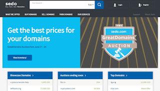 Sedo buy and sell domain names