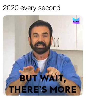 "2020 every second - ""But wait, there's more!"""