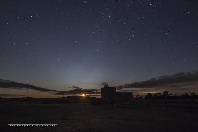 Perseidas 2019 desde el observatorio Astronómico de Cantabria