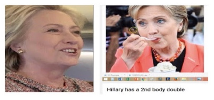 james fetzer appendix b hillary used body doubles during the