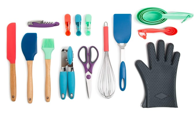 WALMART - Thyme & Table 20-Piece Kitchen Utensil Set