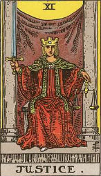 Justice Card in Love and Relationships - Priania