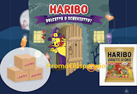 Logo Haribo Dolcetto Scherzetto: vinci gratis 10 forniture da 10 kg. di caramelle