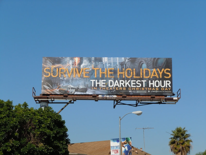 Survive the Holidays billboard