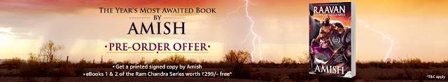 Raavan:Enemy of Aryavarta by Amish Tripathi - Pre Order