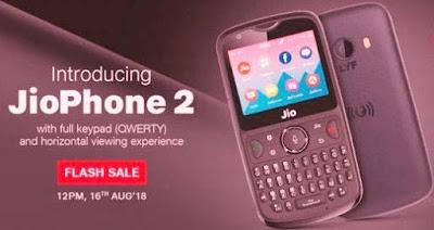 JioPhone 2 Lunched, Jio