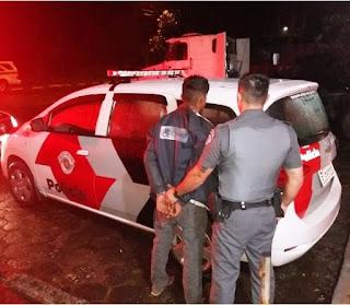 POLÍCIA MILITAR PRENDE HOMEM POR HOMICÍDIO EM JUQUIÁ