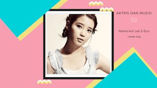 Artis Kpop dan Aktris IU