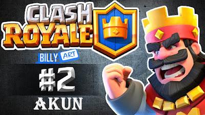 cara membuat 2 akun clash royale
