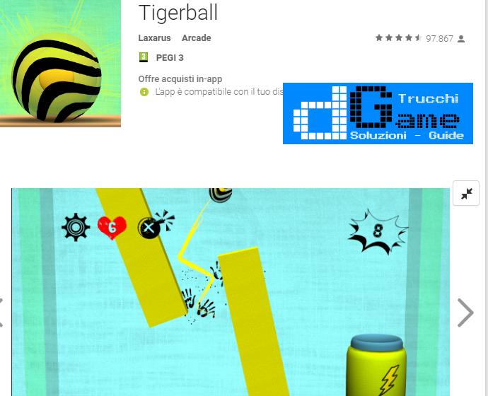 Trucchi Tigerball Mod Apk Android v1.1.3