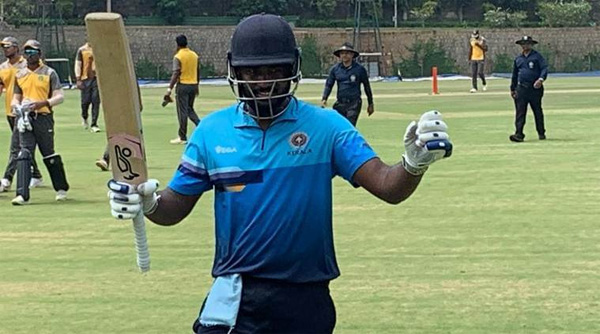 Vijay Hazare Trophy LIVE: Sanju Samson hits double-century,Bangalore, News, Sports, National, Cricket