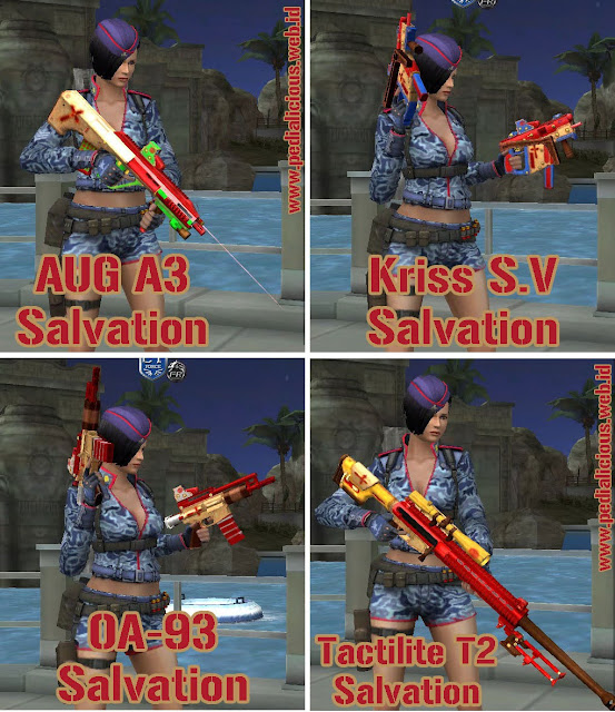 Preview Senjata Rules Seri Salvation Point Blank Zepetto Indonesia