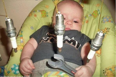 Frühkindliche Förderung lustige Baby Bilder