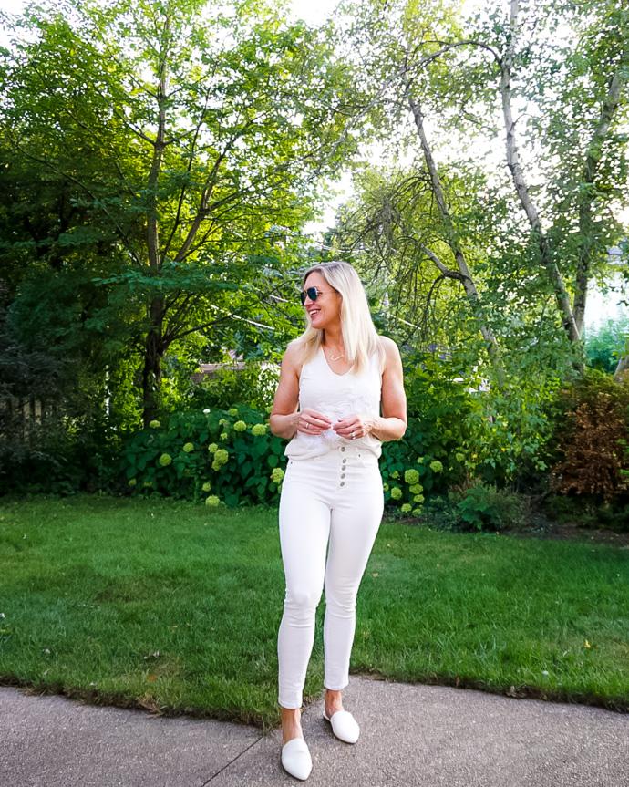 White Monochrome Outfit