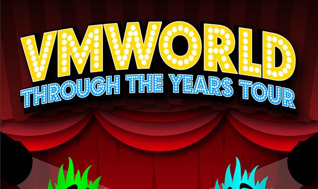 VMworld: Through the Years Tour 2004-2019 #infographic