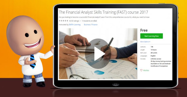 [100% Off] The Financial Analyst Skills Training (FAST) course 2017| Worth 0$