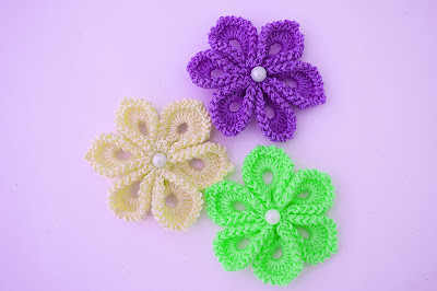 2 - Imagen Crochet Flor a crochet muy fácil y sencilla por Majovel Crochet