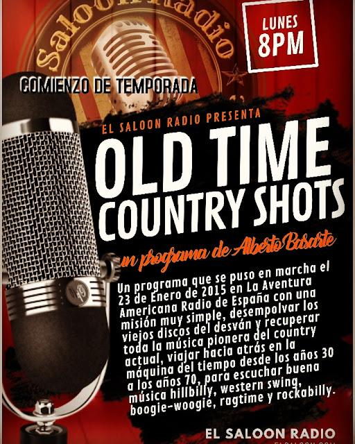 Nueva temporada de Old Time Country Shots.