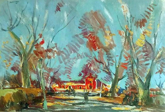 Juan Bautista Porcar, Pintor español, Paisajistas españoles, Paisajes de Juan Bautista Porcar, Pintores españoles, Pintores Valencianos, Circulo de Bellas Artes de Valencia