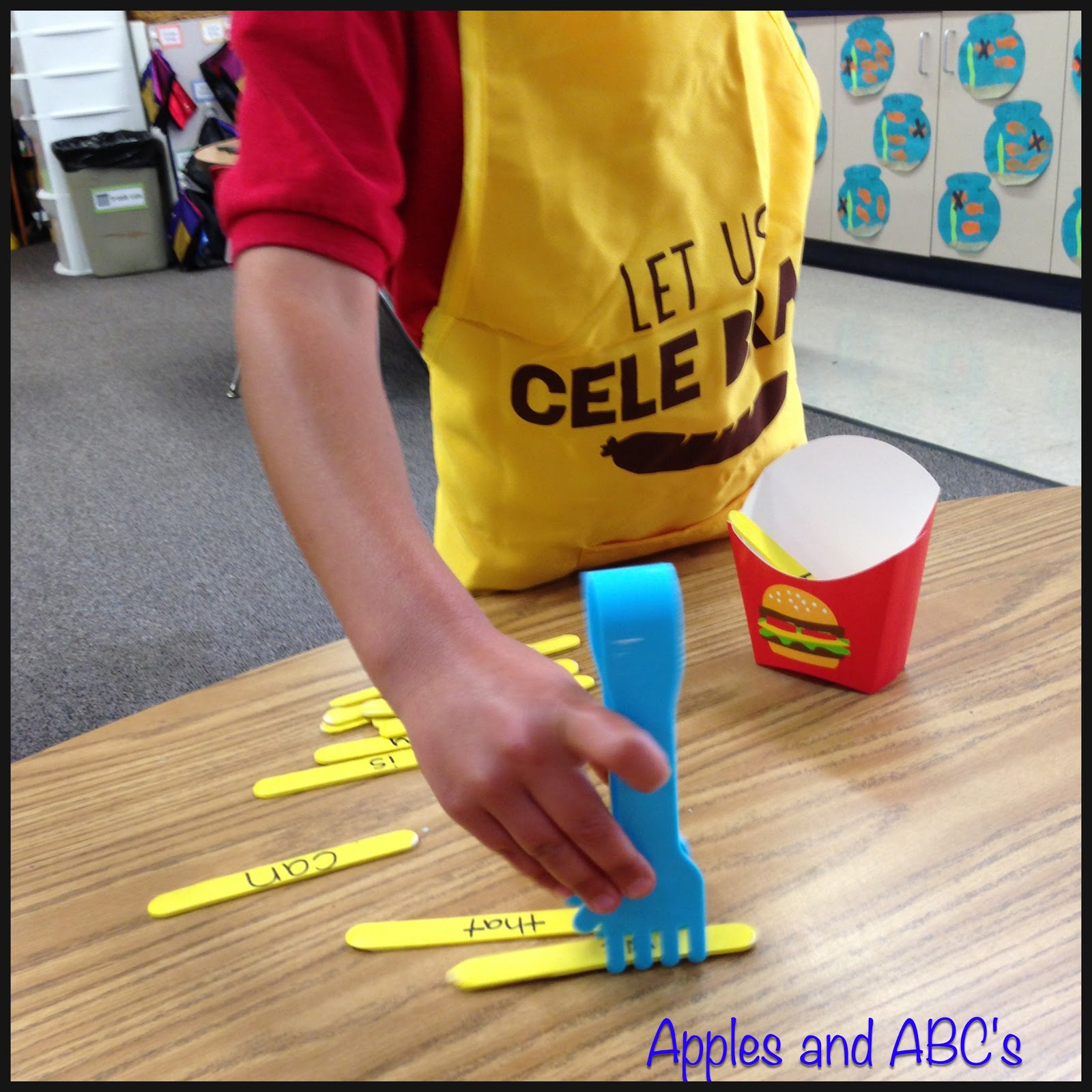 French Fry Sight Word Activity