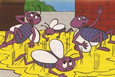 fabula las moscas y la miel