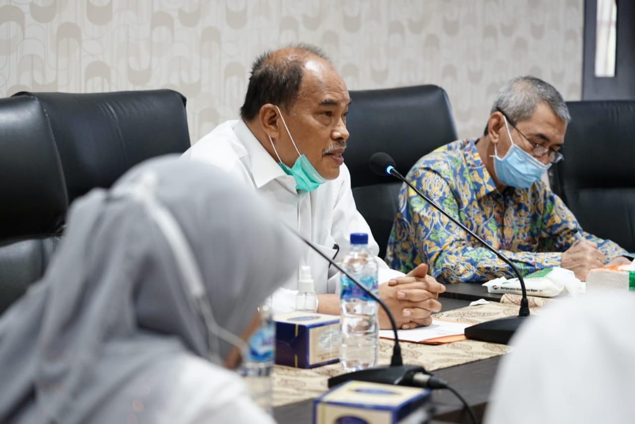 Walikota Tebingtinggi Kunjungi BWSS Medan Telusuri Rencana Normalisasi Sungai Padang