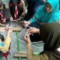 Pramuka Tansa Penegak Kedisiplinan Siswa MTs Ma'arif NU Tanjungsari Jenengan