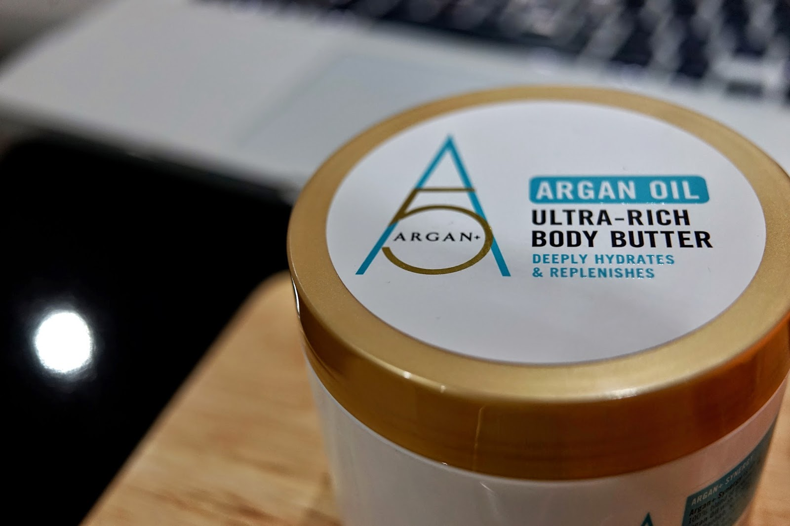 argan 5 ultra-rich body butter