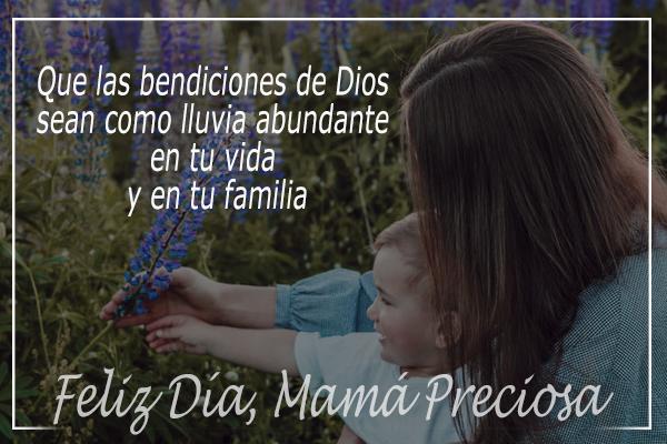 bonita imagen para una madre, feliz día, bendiciones, frases cristianas cortas, reflexiones para la madre, mama por mery bracho