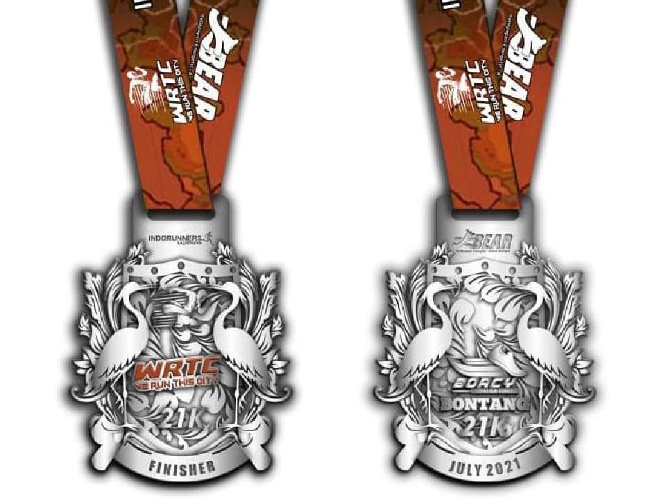 Medali � We Run This City - Bontang Edition • 2021