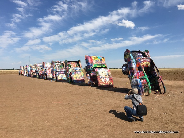 Cadillac Ranch in Amarillo, Texas