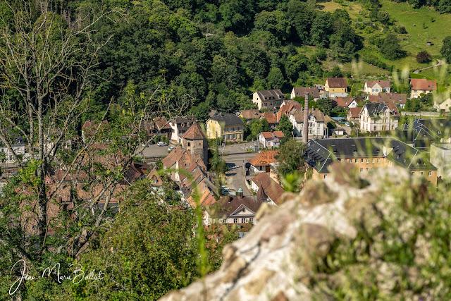 Tour des Cigognes depuis le château de l'Engelbourg