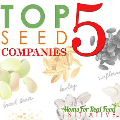 Moms For Real Food Initiative Top five Seeds companies 2017