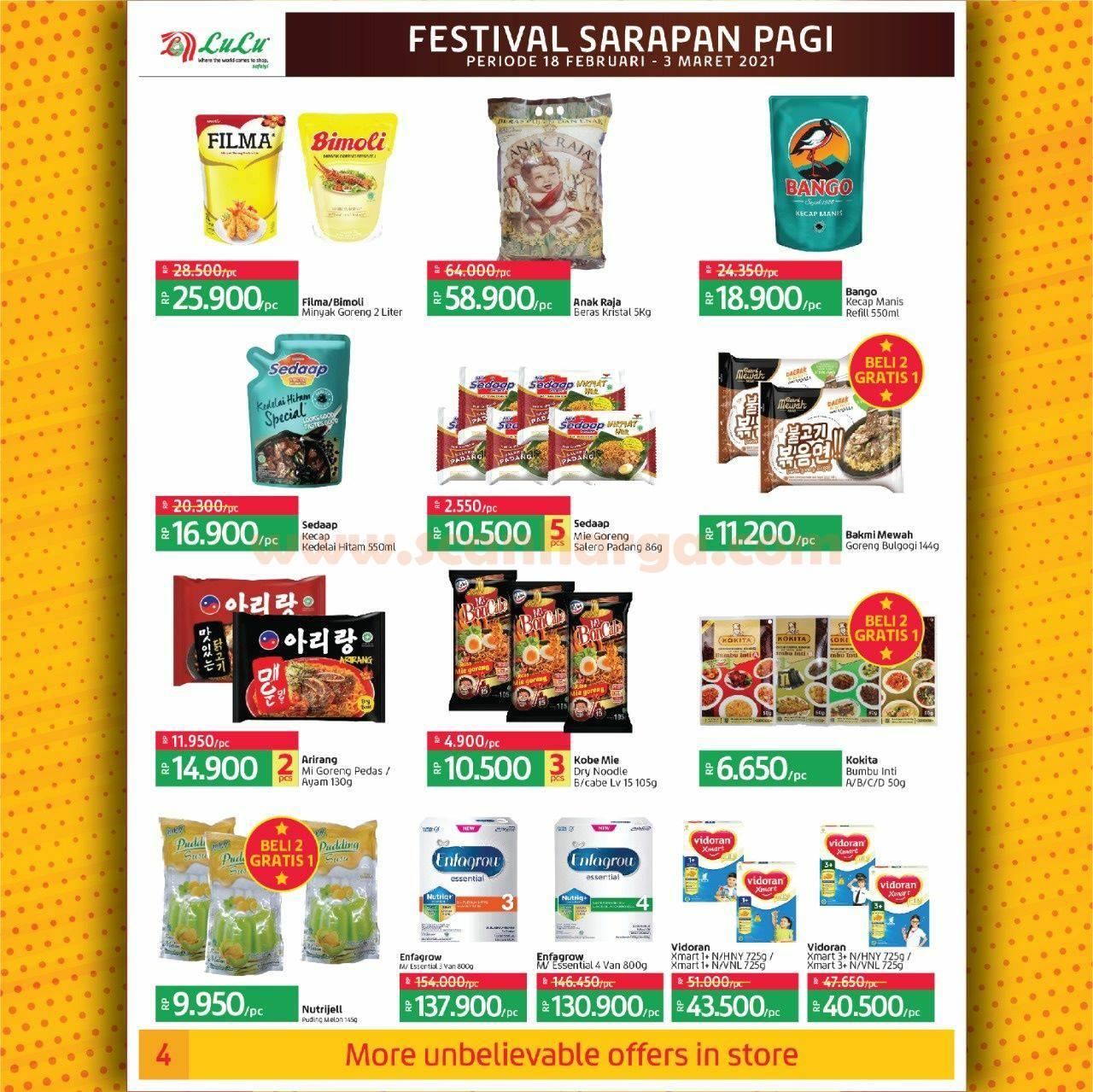 Katalog Promo LULU Supermarket 18 Februari - 3 Maret 2021 4