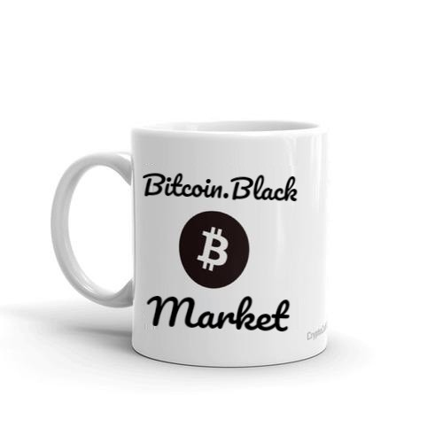 Bitcoin.Black Mug