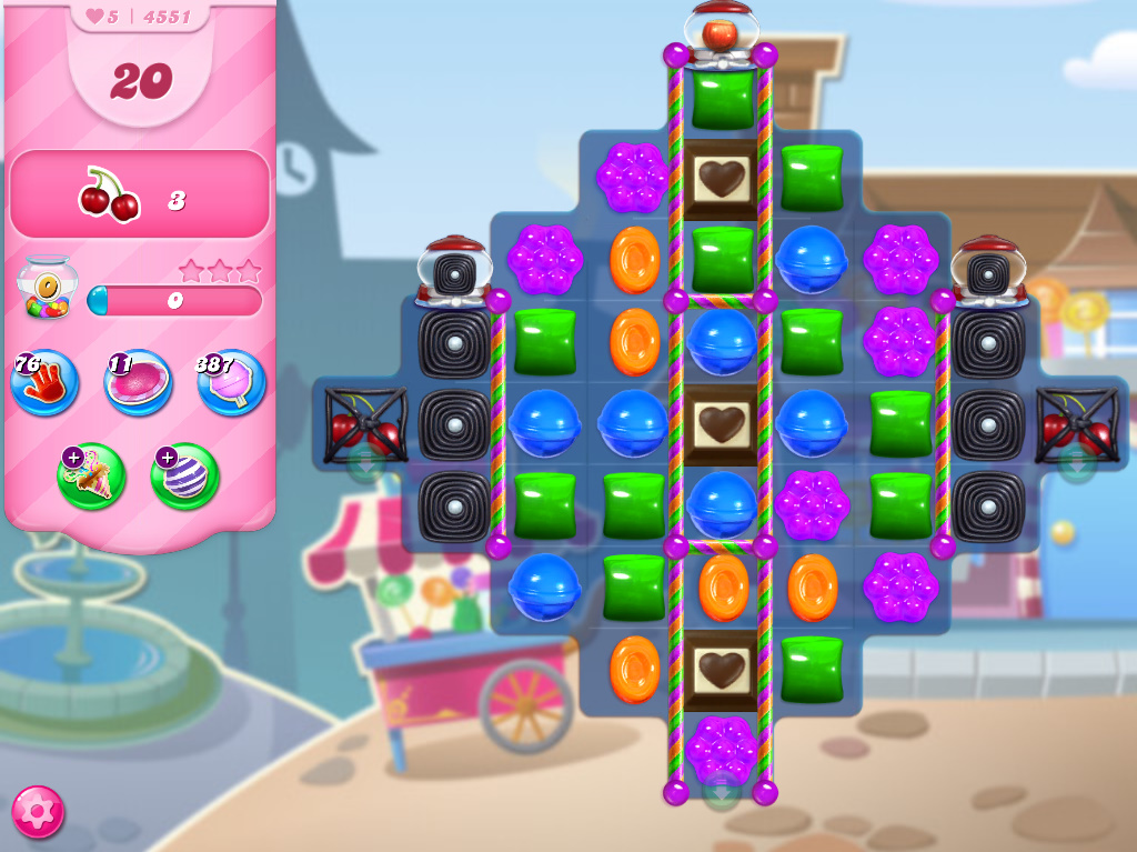 Candy Crush Saga level 4551