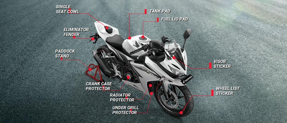 Fitur All New Honda CBR150R