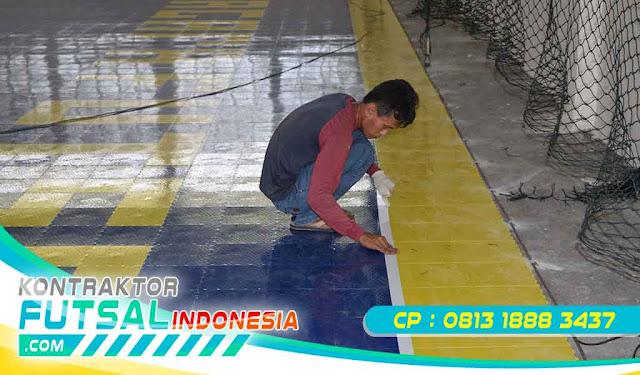 Jasa Konstruksi, Lantai Futsal, Lantai Futsal Plastik