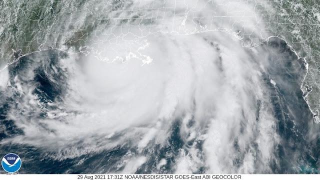 Ο τυφώνας Άιντα πλήττει τη Νέα Ορλεάνη - Κατάσταση έκτακτης ανάγκης στη Λουιζιάνα