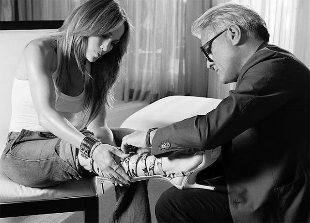 Giuseppe Zanotti collaborates with Jennifer Lopez on a Capsule Collection