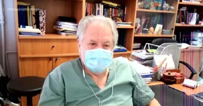 Καπραβέλος (διευθυντής ΜΕΘ Παπανικολάου): «Ως γιατρός δεν θα έδινα ποτέ εμβόλιο με παρενέργεια θάνατο»