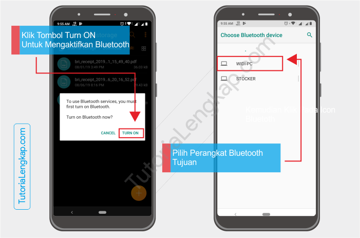 Tutorialengkap 4 Cara Mengirim File Dari HP ke Laptop dan Laptop Ke HP lewat Bluetooth