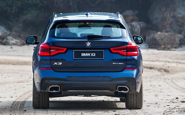 BMW X3 xDrive30i X Line 2018: recall no eixo cardã - Brasil