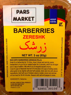 Zereshk is widely used in cooking, imparting a tart flavor to chicken dishes.