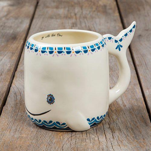 taza ballena, especial mar