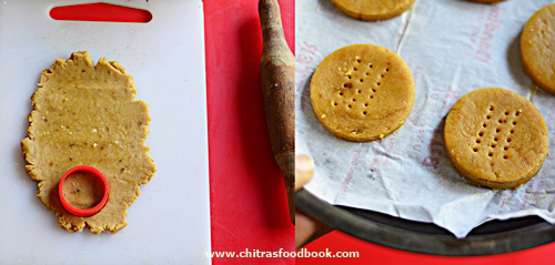 eggless wheat flour cookies with jaggery