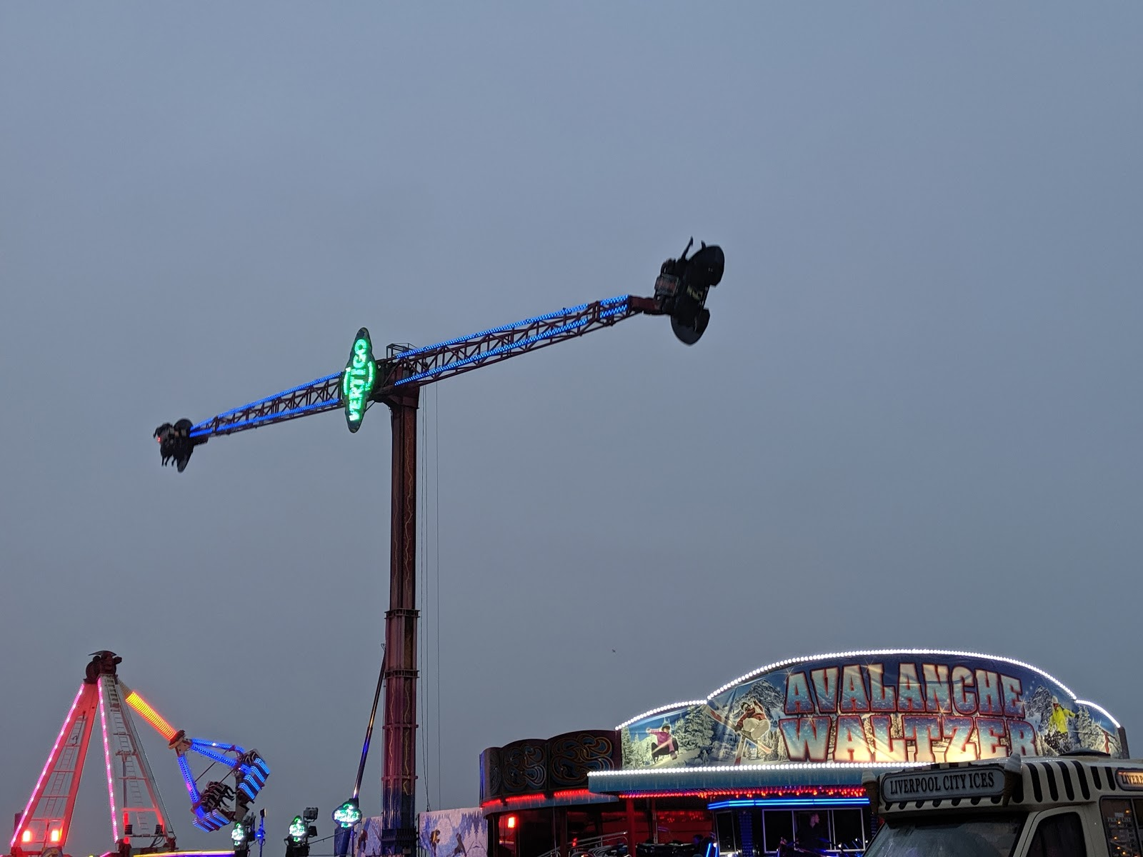 A Guide to Visiting Liverpool Christmas Markets & Lights  - Liverpool Ice Festival Vertigo Ride