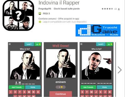 Soluzioni Indovina il Rapper | Tutti i livelli risolti con screenshot soluzione