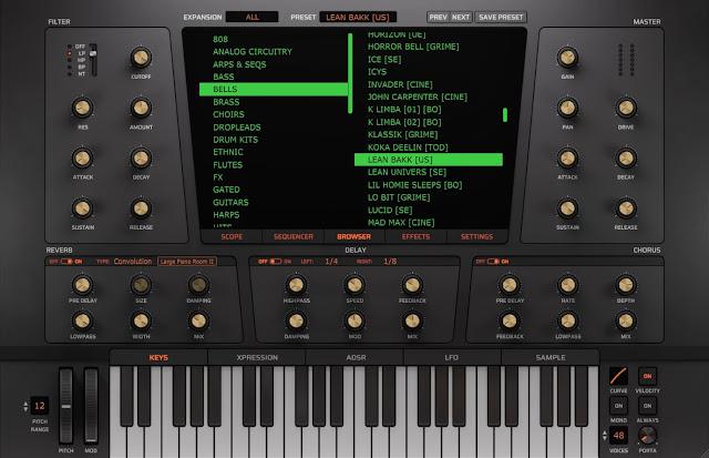 Interface do Plugin Heat Up 3 - Initial Audio + 24 Expansões