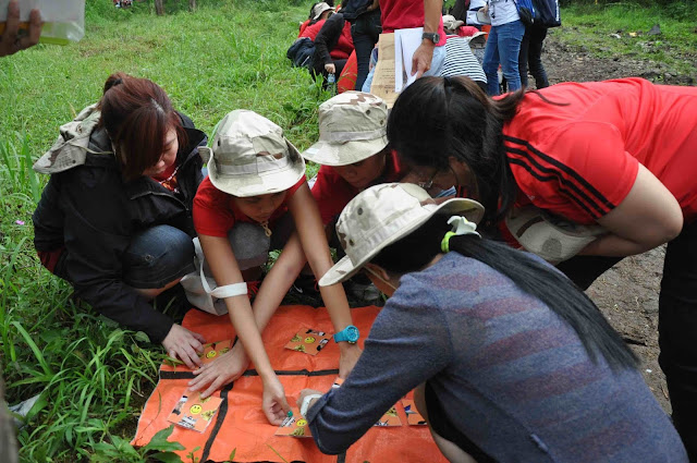 INLAND TREASURE HUNT | Outbound Thematic di Grafika